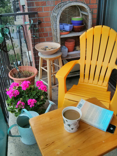 Morning coffee space