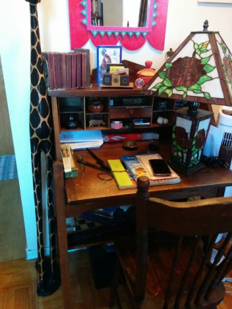 Antique desk from Grammy's home and mine for over 40 years