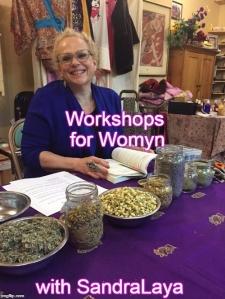 Workshops for Womyn